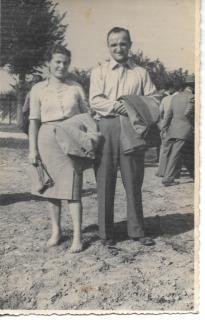 Con moglie Ines 1